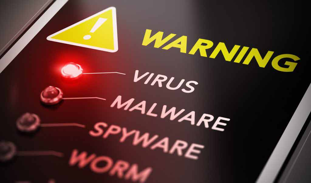 Warning: Virus, Malware, Spyware, Worm
