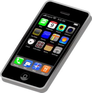 A cell phone screen open to its Apps page